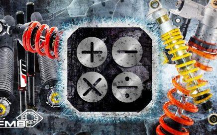 Enduro & Motocross Federrate nach Fahrergewicht für Gabel & Stoßdämpfer berechnen. Richtige Feder für Gewicht Fahrer Motocross & Enduro KTM Husqvarna Beta