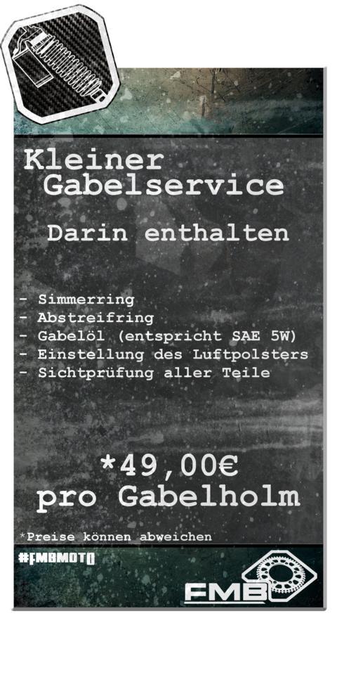 Kleiner Gabelservice WP Gabelservice Marzocchi Gabelservice Öhlins Gabelservice KTM Gabelservice Husaberg Gabelservice Husqvarna Gabelservice Beta Gabelservice GasGas Gabelservice
